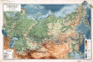 Ģeogrāfiskā karte - Krievija - 8,397 x 6,048 Pikselis - 10 ...