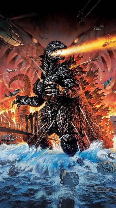 Godzilla 2000 Phone Wallpapers Millennium 1999 Monsters