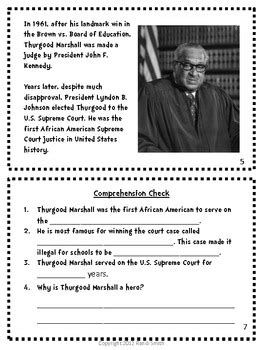 American Heroes Series-Book Three-Thurgood Marshall by