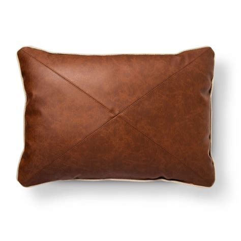 leather throw pillows chic mid century modern living room ready for summer