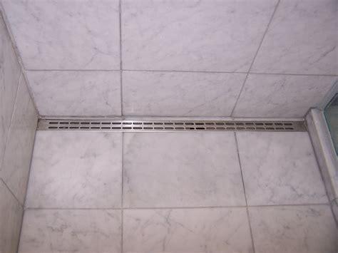 long tile shower  linear drain ceramic advice forums
