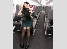 嗨翻表特版!長榮萌Q空姐「短髮+白皙肌+纖腿」 網友瘋狂:「我要去訂機票」