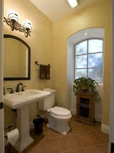 Half Bathroom Ideas With Pedestal Sink by How To Decorate Your Bathroom In Mexican Style Interior