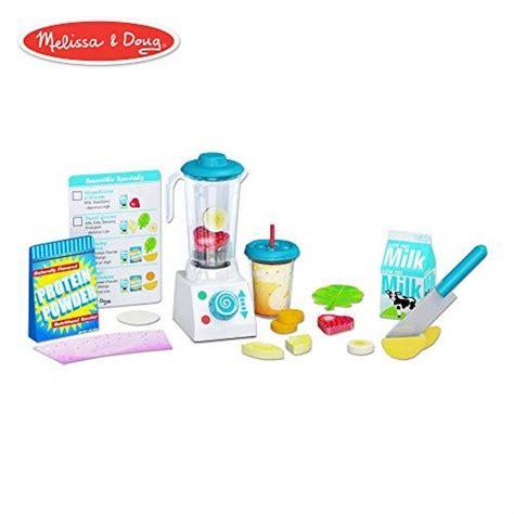 melissa doug smoothie maker blender set helps develop