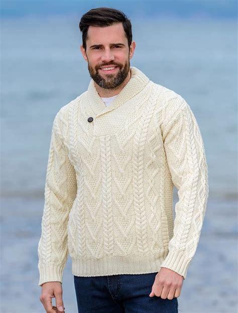 aran sweater market review mens shawl collar sweater shawl neck aran sweater market