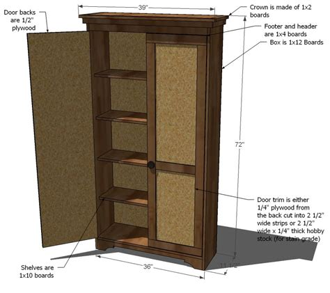 woodwork armoire plans to build pdf plans
