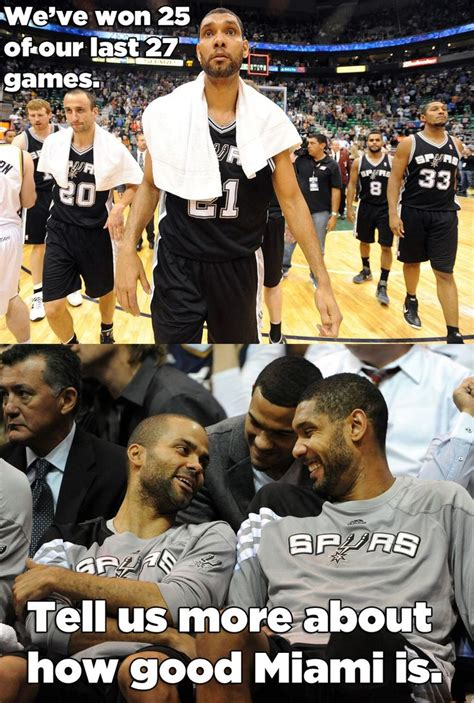 Spurs Meme - spurs the gentlemen team they have an awesome coach they all must have a good