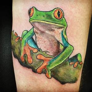 Green Frog Designs : 80 lucky frog tattoo designs meaning placement 2018 ~ Markanthonyermac.com Haus und Dekorationen