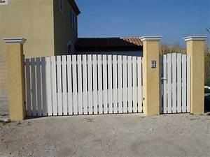 Portail Sur Mesure : portail battant aluminium portail aluminium sur mesure ~ Melissatoandfro.com Idées de Décoration