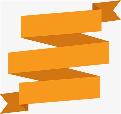 simple orange ribbon orange clipart ribbon clipart