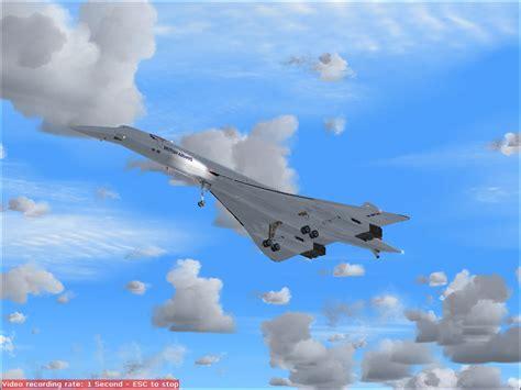 fs concorde landing  surclaro