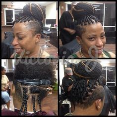 white box braids  shaved sides box braids locs