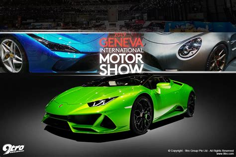 The Best New Cars At The 2019 Geneva Motor Show