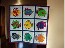 Funky Fish Quilt just finished