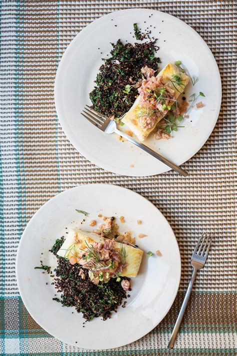 grouper saveur sauce magazine crab issue fennel quinoa pickled special cooking recipes