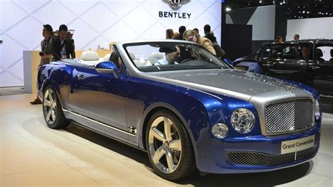 bentley mulsanne convertible bentley mulsanne convertible slated for 2016