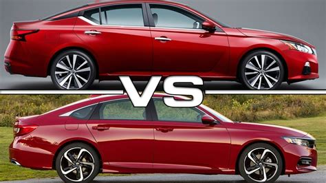 2019 Nissan Altima Vs 2018 Honda Accord