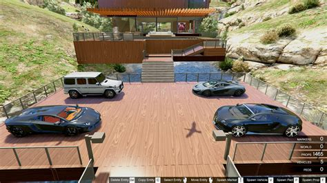 Villa Mit Tiefgarage by Luxury Wooden Villa Garage Helipad Pool Gta5 Mods