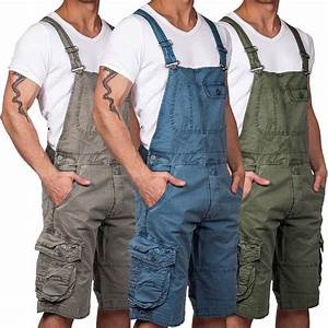 Kurze Latzhose Herren : jet lag herren overall shorts herrenhose latzhose cargoshort cargo hose jumpsuit ebay ~ Orissabook.com Haus und Dekorationen