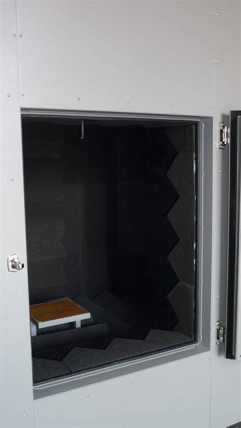 chambre acoustique cabine test mesure acoustique chambre sourde cometac