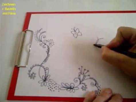 zeichnen lernen fuer anfaenger schoene verzierungsmuster fuer