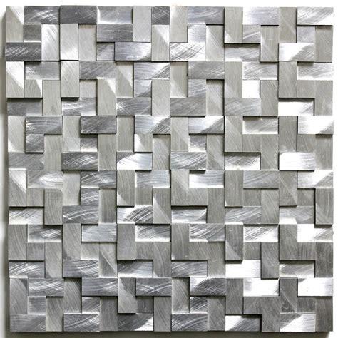 dalle cuisine dalle mosaique aluminium carrelage cuisine crédence konik