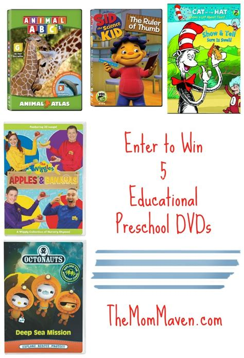 educational preschool dvd giveaway the maven 109 | Preschool DVD Giveaway