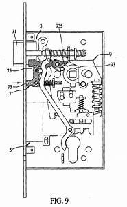 Yale Mortise Lock Diagram