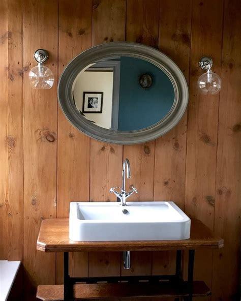 clear glass globe bathroom wall light hereford retro