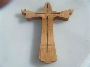 Wooden Scrollsaw Jesus Cross by DCScrollworks on Etsy