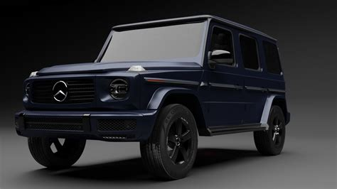 It is available in 17 colors, 1 variants, 1 engine, and 1 transmissions option: Mercedes G-Class 2021 3D   CGTrader