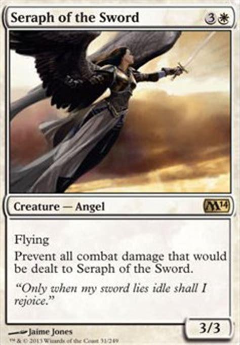 budget edh decks mtgo seraph of the sword m14 mtg card
