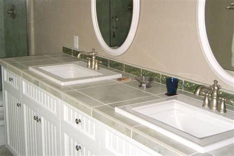 tile bathroom countertops liberty home solutions llc
