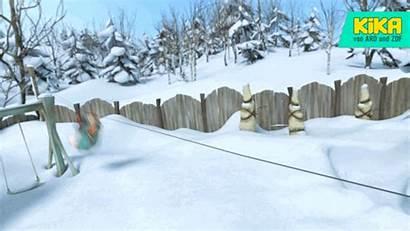 Giphy Snow Seilbahn Fun Gifs Tweet Kika
