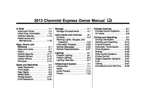 online car repair manuals free 2011 chevrolet express 2500 spare parts catalogs 2013 chevrolet express owners manual just give me the damn manual
