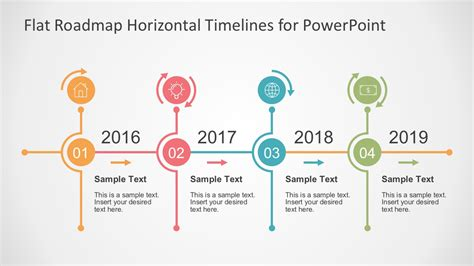 time management templates for google slides flat timelines powerpoint templates