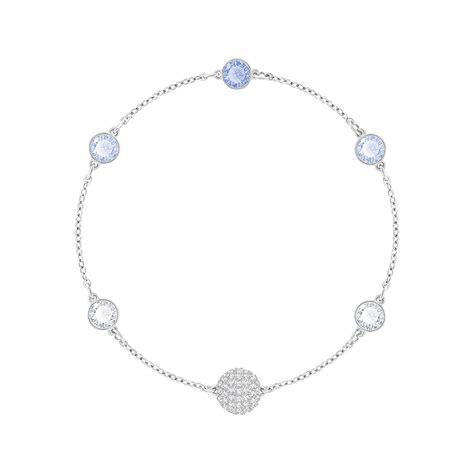bracelet swarovski bleu bracelet swarovski remix timeless bleu 5354791 pour femme