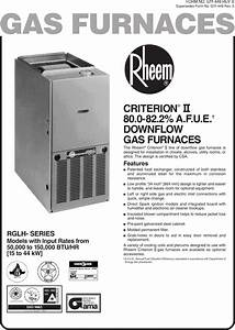 Rheem Criterion Ii Installation Manual Manualslib Makes It