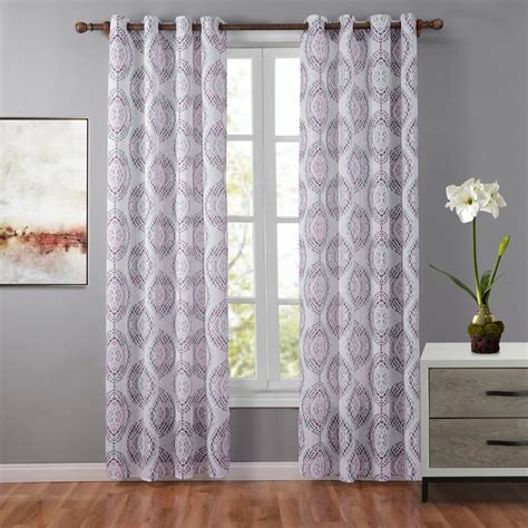 geometric pattern sheer curtains gray sheer curtains promotion shop for promotional gray