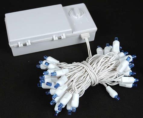 50 led christmas lights white 50 led battery operated christmas lights blue on white
