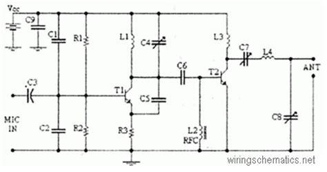 Watts Transmitter Circuit Schematic