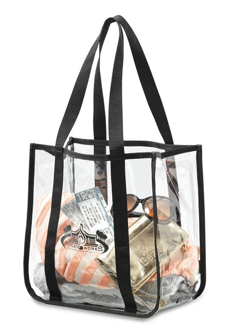 designer clear tote bags design clear event tote bag