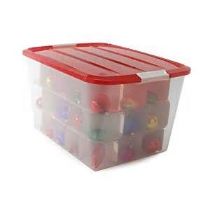 ornament storage box iris bcb 60 clear 13 25 quot h x 16 75 quot w x 22