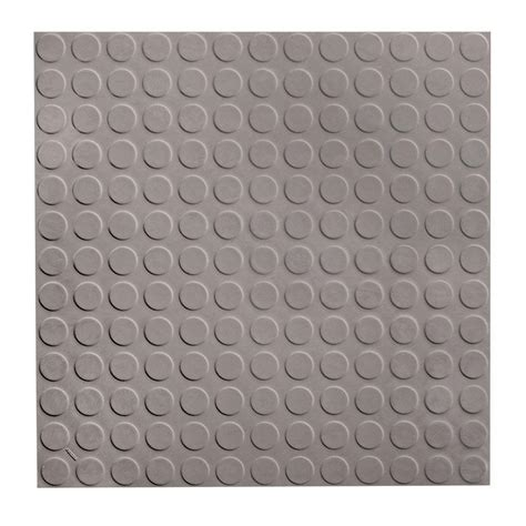 roppe rubber tile flooring roppe low circular profile 19 69 in x 19 69 in slate