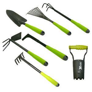 Gartenwerkzeug Rechen by 7 Teiliges Gartenwerkzeug Set Rechen Harke Kralle Schaufel