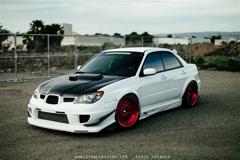 modded subaru 2006 subaru wrx sti cars white modified wallpaper