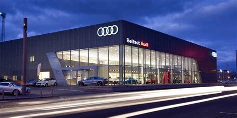 audi dealership interior architects in belfast blackstaff architects ltd