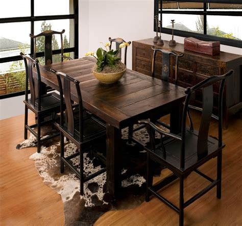 Kitchen Table Setting Ideas - rustic dining room furniture sets home furniture design