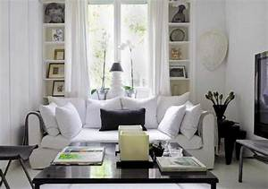 Red black white living room decobizzcom for Black and white living room decor