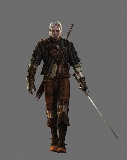 Witcher Geralt Rivia Artwork Concept Pc Characters